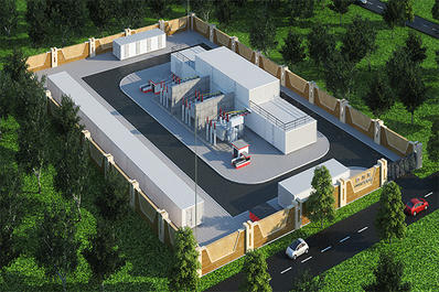 智慧电力变电站3D建模H5三维数字化模型管理系统