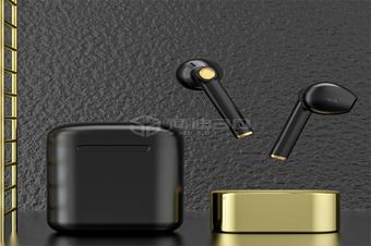 电商耳机产品3D建模三维数字化模型在线展示