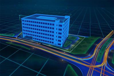 三维电子沙盘3D智慧园区建筑建模可视化模型解决方案