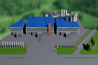 3D智能园区H5三维可视化模型建筑建模大屏展示