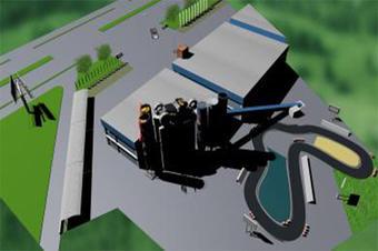 倾斜摄影三维模型3D建模园区建筑信息可视化管理