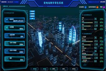 VR智慧电厂三维火电站3D可视化监控管理信息系统