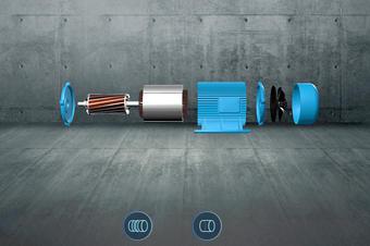 发动机VR3D可视化系统展示方案