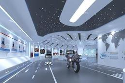 企业线上3D虚拟空间展示产品3D可交互模型制作