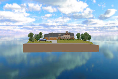 Web3D地产三维模型别墅电子沙盘VR虚拟现实3D展示