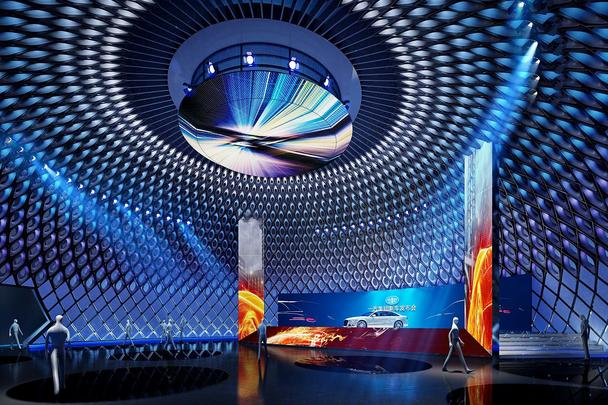 商迪3D-VR在线看展汽车工业博览会Web3D在线汽车展厅系统