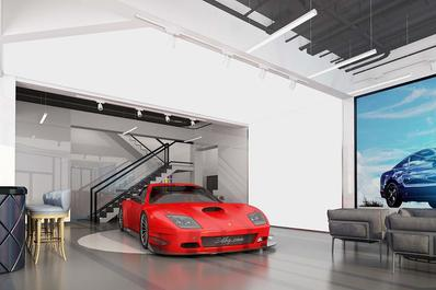 虚拟现实技术实现线上3D车展体验不一样的汽车VR展馆