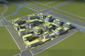 3D园区可视化建模三维智慧建筑立体模型在线展示
