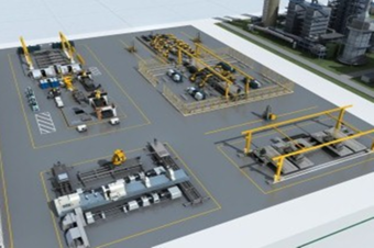 H5三维设备可视化工业3D建模信息管理系统