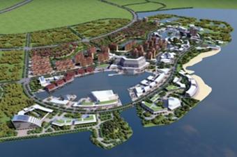 智慧园区3D建模可视化建筑三维模型在线展示