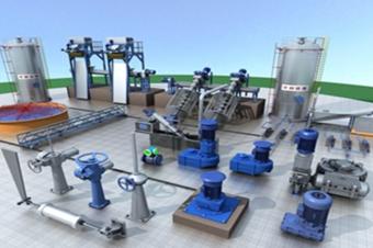 3D工业建模数字可视化三维设备模型线上展示应用