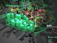 园区建筑3D建模_楼宇建筑3D建模_智慧楼宇3D建模大屏展示系统