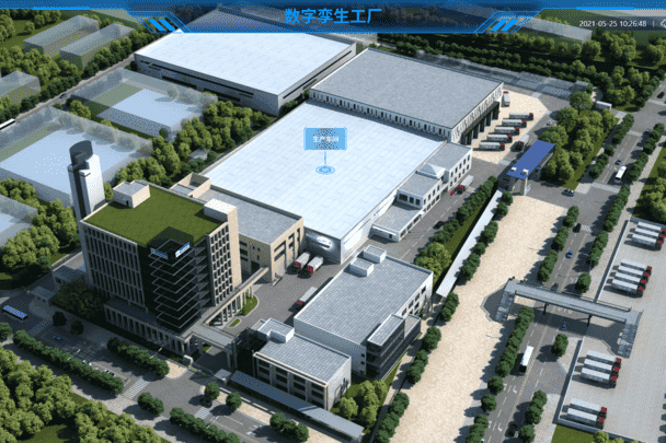 三维智能模型工厂可视化3D建模管理系统
