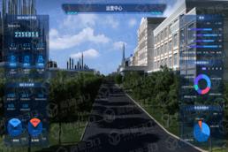 智慧园区三维可视化数字孪生3D数字化建设
