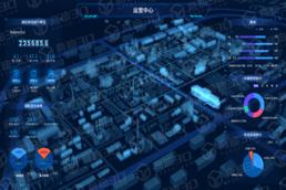 数字孪生虚拟仿真三维智慧园区可视化管理平台