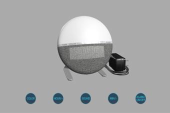 3D闹钟模型制作三维建模多功能闹钟在线展示