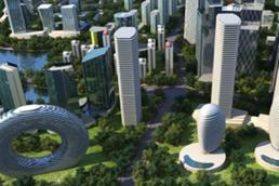 智慧城市数据可视化三维物联网引领新生态