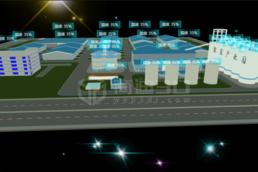 智慧安防3d可视化仿真建模物联网系统