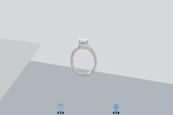 首饰钻戒3D模型制作,打造线上精致戒指展示方式