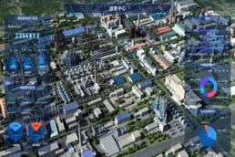 3D虚实联动三维仿真园区可视化展示系统