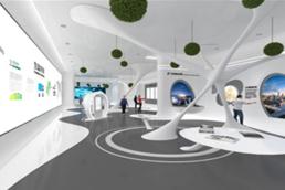 线上虚拟展厅-新形势VR全景云上企业展馆
