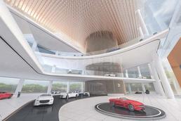 在3D汽车展中实现VR全景看车,汽车3D数字展厅足不出户就能买车