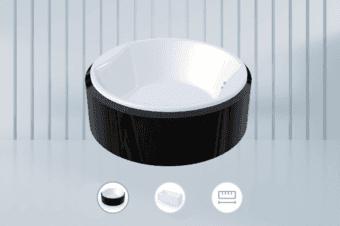 浴缸H5三维展示:3D建模立体三维模型线上展示