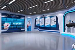 VR企业全景线上互动虚似3D可视化展厅