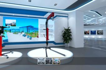 3D线上虚拟展会之全景vr机械线上展会
